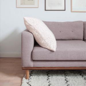 Hide pink pillow
